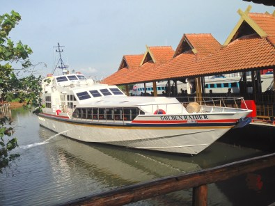 Batamfast. Not the best Ferry but sailed safely and comfortable.