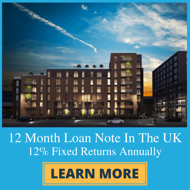 12 Month Loan Note - Square Banner Ad