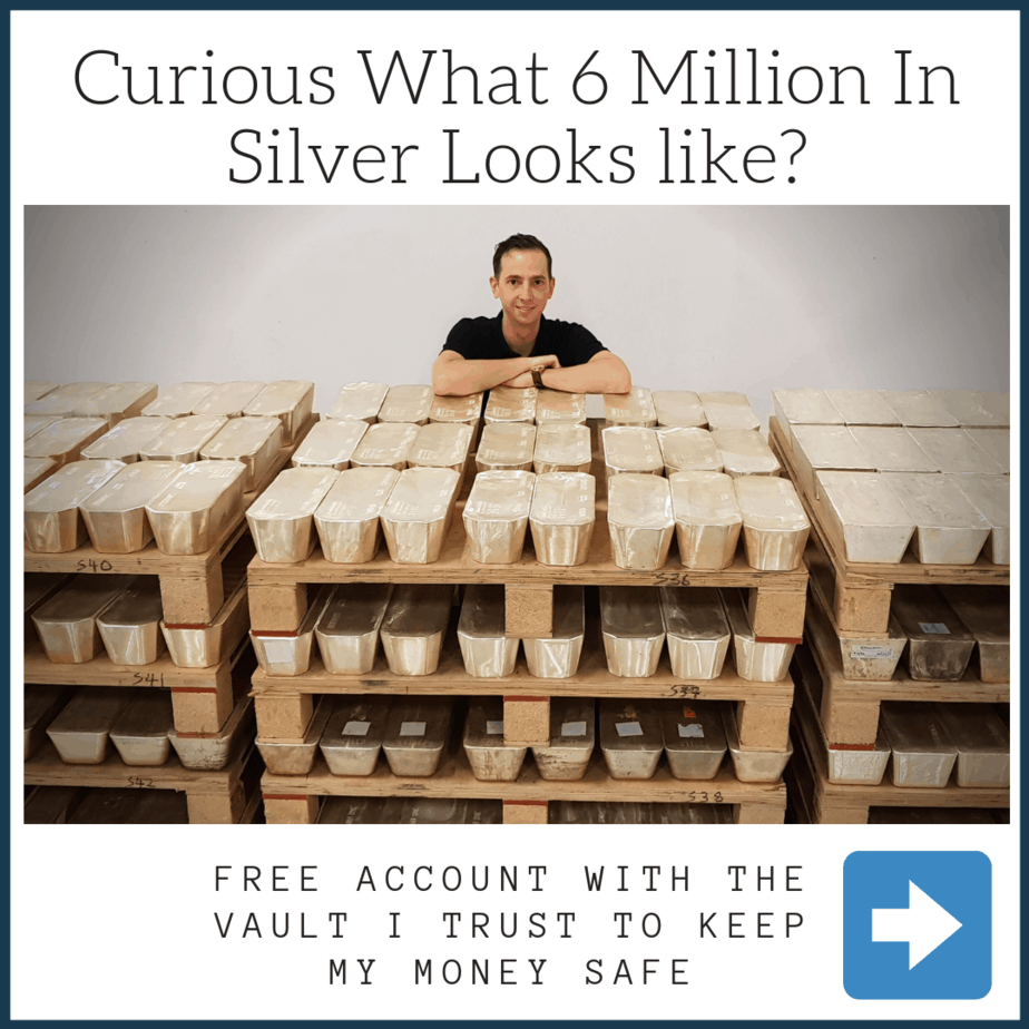 Mikkel Thorup with 6 million in Silver Bullion