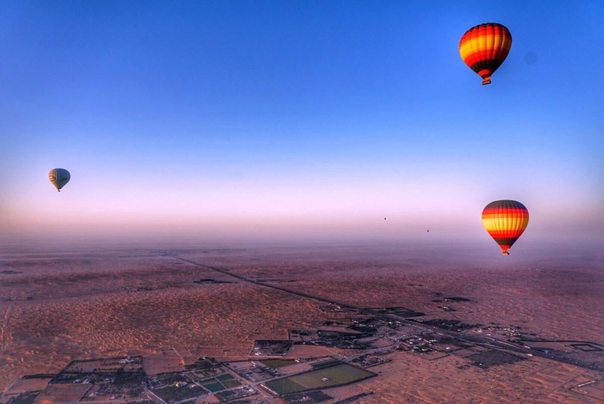 hot air balloon dubai 1