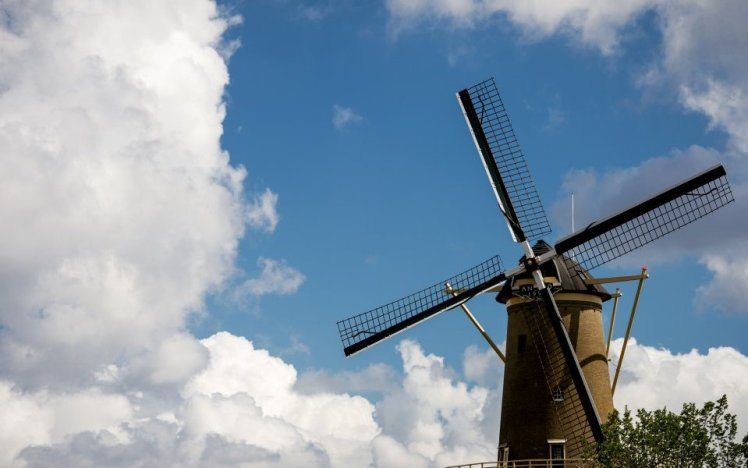 royal windmill in the netherlands