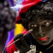 An interview with Zwarte Piet (Photo: de Volkskrant)