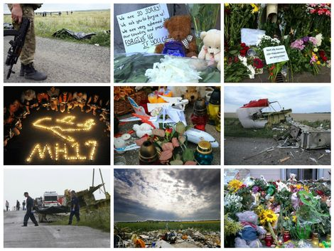 MH17 Plane crash: astonishment, anger, fear, relief, condolences and hope (Photo: de Telegraaf)