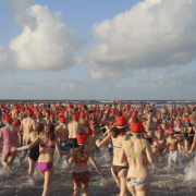New Year's plunge