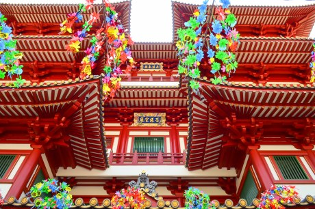 The Buddha Tooth Relic Temple, Chinatown Photo credit: Tatyana Kildisheva
