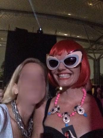 Eva & me at the concert
