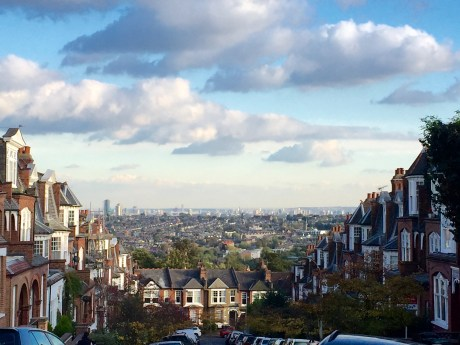 Hilly Muswell Hill
