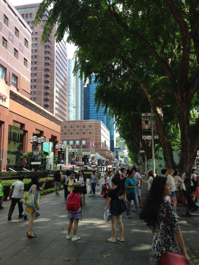 Leafy Orchard Road
