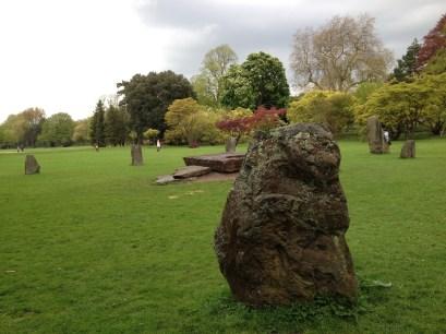 Gorsedd Stones in Bute Park - Cardiff