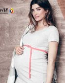 Maternity Fashion Model