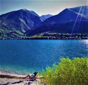 Lasgo di Scanno, Abruzzen, See von Scanno