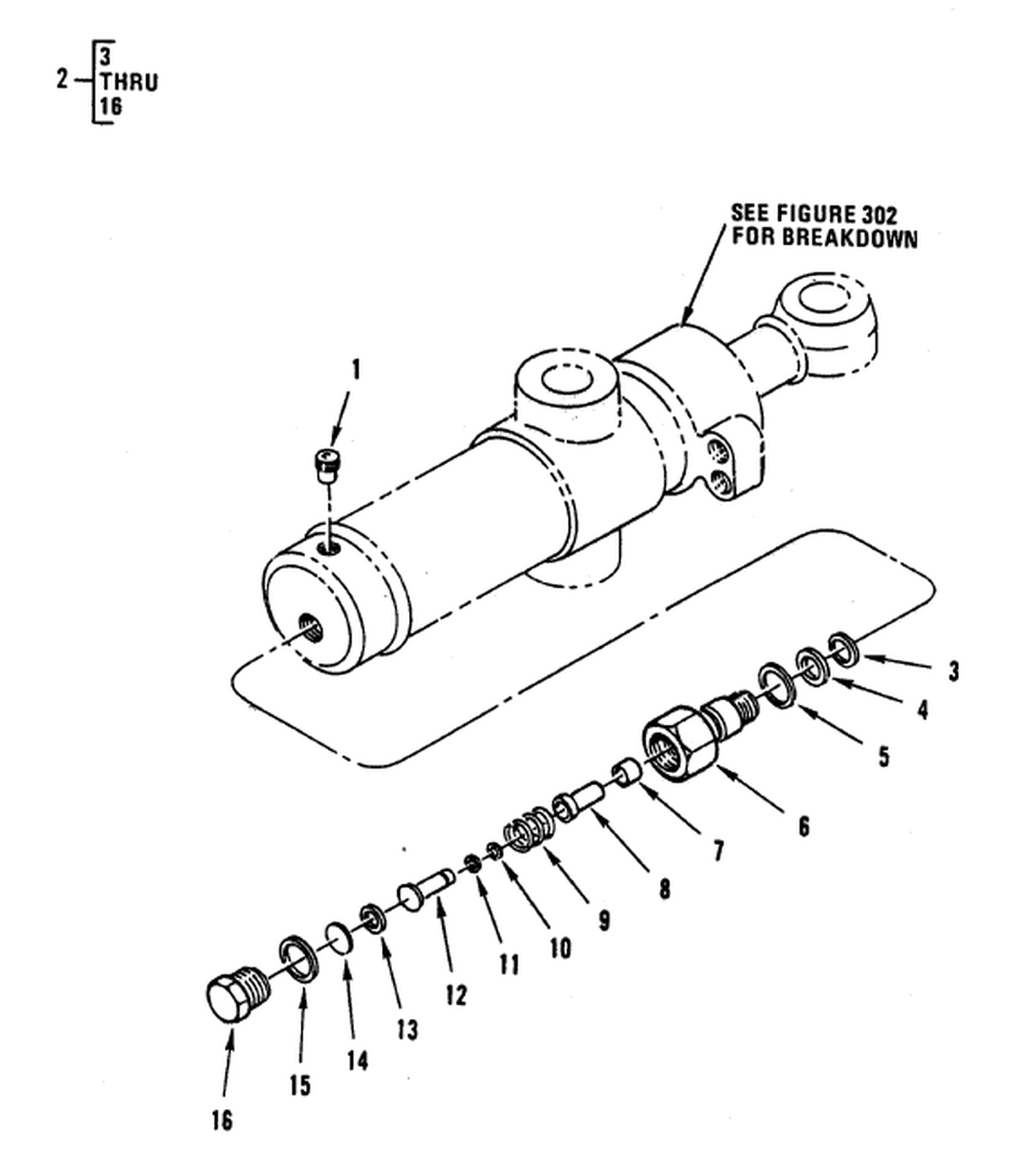 00 2 Figure 247 Hydraulic Control Valve Backhoe