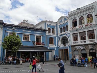 Marktplatz von Quito
