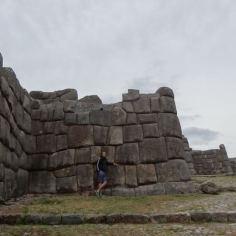 Saqsaywaman-Ruinen in Cuenca