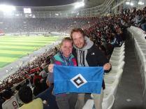 Fußball-Ground Peru