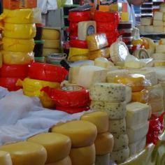 Wochenmarkt von Cuenca