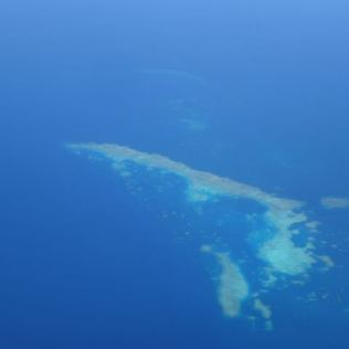 Great Barrier Reef im Landeanflug