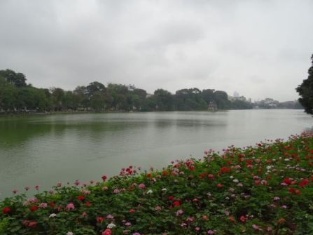 Ausblick auf den Fluss