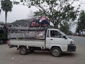 Koffer-Transport