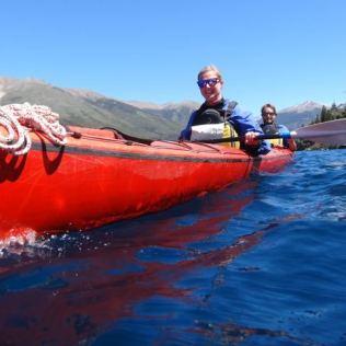 Kayak fahren in Bariloche