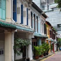 historisches Singapur