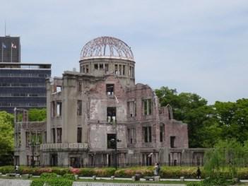 Atombomben-Ruine