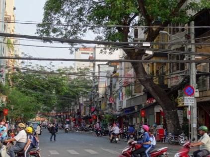 Straßen-Chaos in HCMC