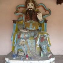 bunte Statue