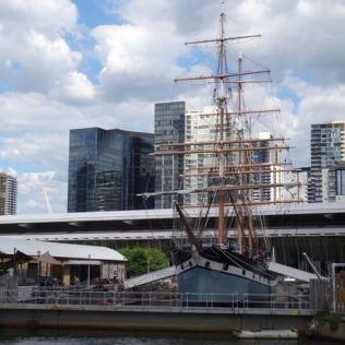 Hafen von Melbourne