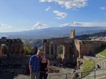 Blick auf die Ruinen