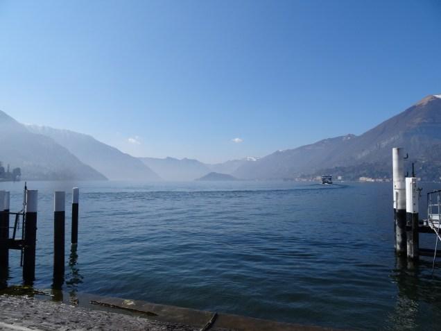 Blick von Bellagio auf den Lago di Como