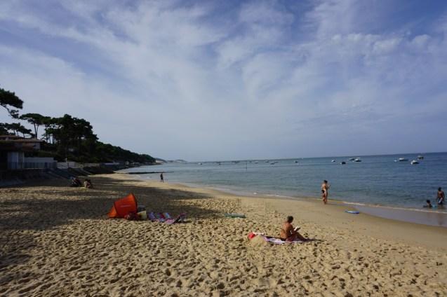 Strand hinter der Düne
