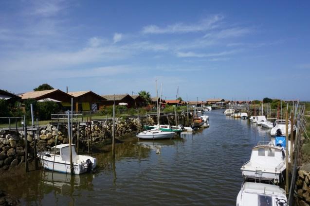 Hafen von Gujan Mestras