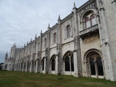 das Kloster von außen