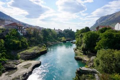 Der Fluss Neretva