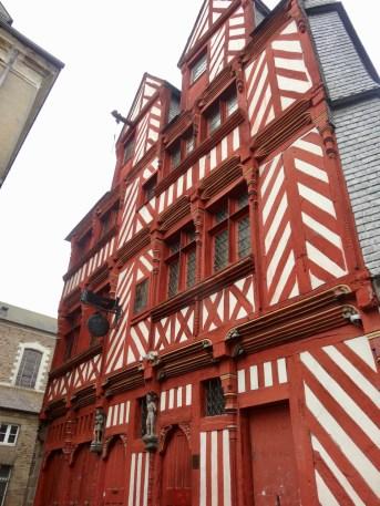 wunderschöne Fassade in Rennes
