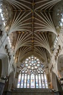 Innenraum Kathedrale von Exeter