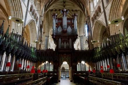 Kathedrale von Exeter von innen