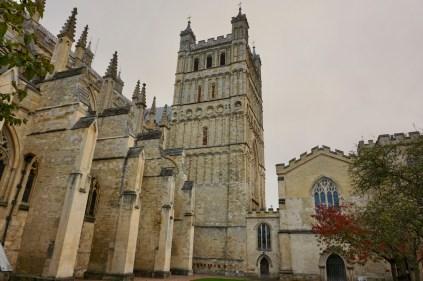 Kathedrale von Exeter von außen