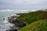 Grüne Felsen am Lizard Point