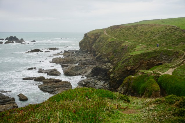 Wandern am South Coast Path in Cornwall