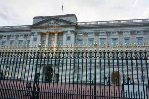Buckingham Palace London von vorne