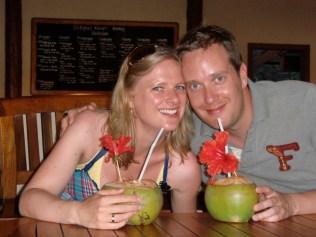 Kokosnuss-Cocktail