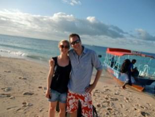 Umsteige-Strand Beachcomber Island