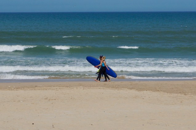 Südafrikanische Surfer