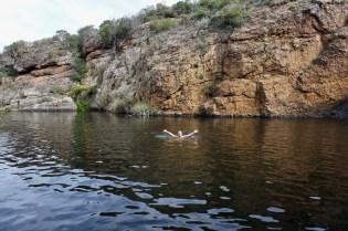 Wasserbecken zum Schwimmen