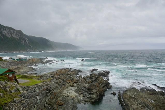 Wanderung bei schlechter Sicht im Garden Route National Park