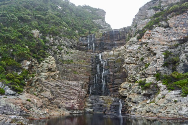 Garden Route National Park mit Wasserfällen