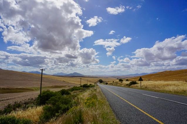 Landstraße in Südafrika