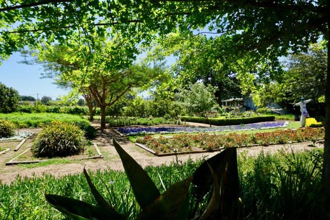 Garten im Weingut